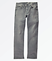 Volcom Vorta jeans ajustados grises para niños