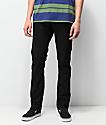Volcom Vorta jeans de mezclilla negra