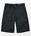 Volcom Youth Frickin Black Chino Shorts