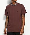 Volcom x Kyle Walker Plum Knit Crew Neck T-Shirt