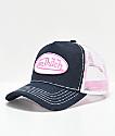 Von Dutch Pink & Navy Trucker Hat