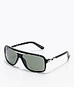 Von Zipper Stache Black Gloss & Grey Sunglasses
