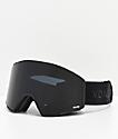 VonZipper Capsule Black Satin Blackout Snowboard Goggles