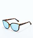 VonZipper Fairchild Tort Satin Sky Chrome Sunglasses