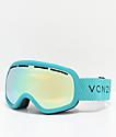 VonZipper Skylab Mint Satin Stellar Chrome gafas de snowboard