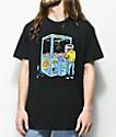 Washbeast Brain Crane camiseta negra