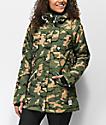 Wear Colour Flare Forrest Camo 10K Snowboard Jacket