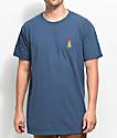 Weather MTN Burnt Navy T-Shirt