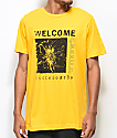 Welcome Flaura Gold T-Shirt