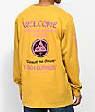 Welcome Hotline Sleeve camiseta amarilla de manga larga