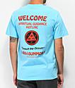Welcome Hotline camiseta azul