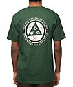 Welcome Latin Talisman camiseta en verde y rosa
