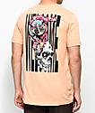 Welcome Loris  camiseta en color melocotón