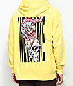 Welcome Loris Pigment Dyed Yellow Hoodie