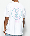 Welcome Symbol Overlay White T-Shirt