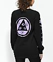 Welcome Talisman Black & Purple Long Sleeve T-Shirt