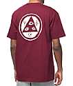 Welcome Talisman Burgundy & White T-Shirt