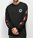 Welcome Tasmanian camiseta negra de manga larga