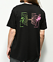 Welcome Wormhole Black T-Shirt