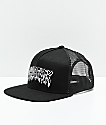Whadafunk Drippy Funk Black Trucker Hat