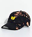 Wu-Tang Black Bleach Strapback Hat