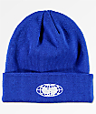 Wu Wear Globe Logo Royal Blue Beanie
