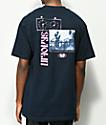 Wu Wear Invincible Navy T-Shirt
