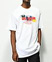 Wu Wear Multi Globe White T-Shirt