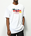 Wu Wear Multi Globe camiseta blanca