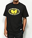 Wu Wear Yellow Globe camiseta negra