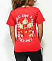 YRN Crown The Roses Red T-Shirt