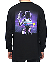 YRN Culture Lightning Black Long Sleeve T-Shirt