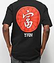 YRN Kanji Black T-shirt