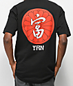 YRN Kanji camiseta negra