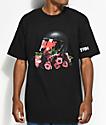 YRN Nawf Side Black T-Shirt