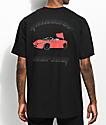 YRN Raindrop Auto Shop Black T-Shirt