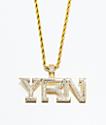 YRN x The Gold Gods Piece collar de cadena de oro