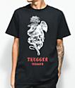 Young Thug Thugger Angel Snake camiseta negra