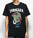 Young Thug Thugger Skull Snake camiseta negra