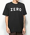 Zero Army camiseta negra