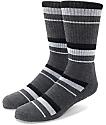 Zine 10 Feet Tall Black & Charcoal Crew Socks