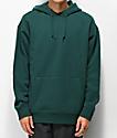 Zine Alt sudadera con capucha verde oscuro