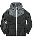 Zine Boys Sprint Black & Charcoal Windbreaker Jacket
