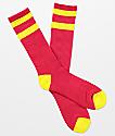Zine Brawny Azalea calcetines rojos