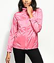 Zine Calla Pink Iridescent Windbreaker Jacket