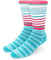 Zine Cornered calcetines rosas y azules