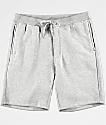 Zine Damon Athletic Grey Fleece Lined Athletic Shorts