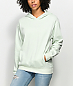 Zine Gill Light Green Drop Shoulder Hoodie