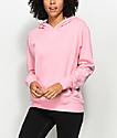 Zine Gill Pink Drop Shoulder Hoodie