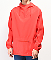 Zine Glo Reflective Red Anorak Windbreaker Jacket